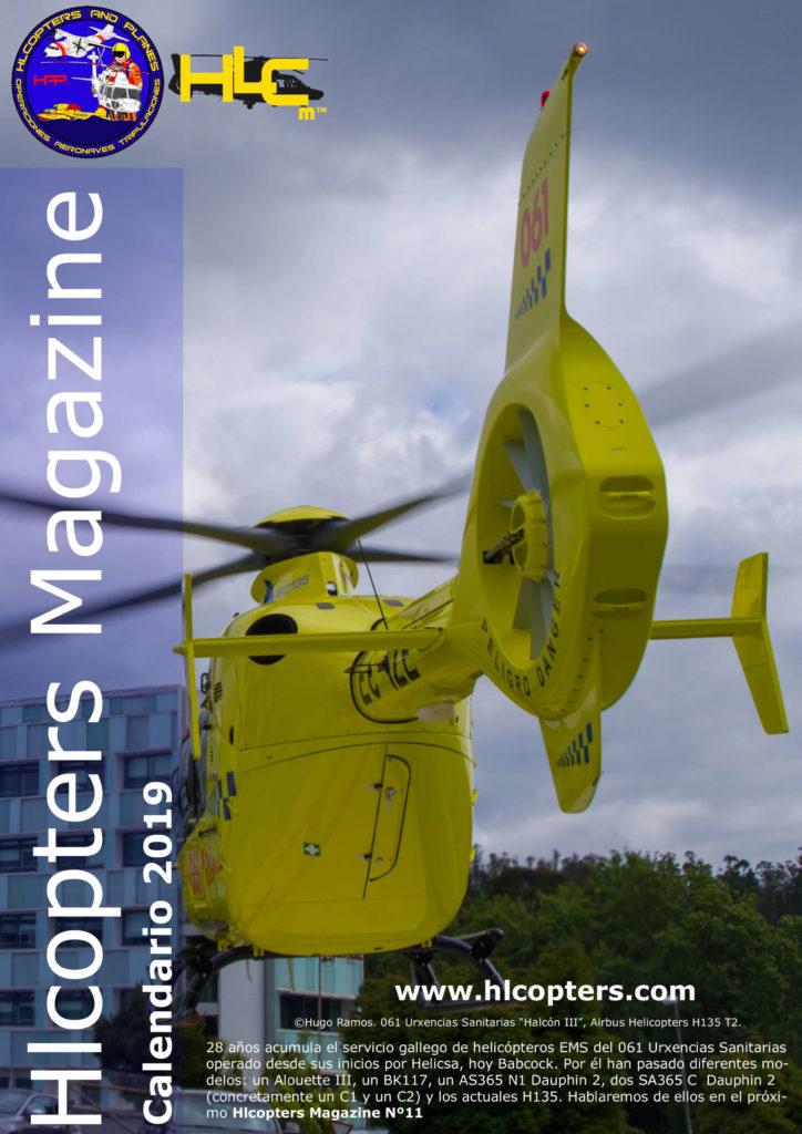 Calendario Hlcopters Magazine, Calendar Hlcopters Magazine, Calendrier Hlcopters Magazine, Helicopters Calendar, calendrier d'hélicoptère, calendario de helicópteros