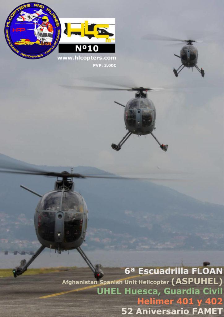 Hlcopters número 10, revista especializada en helicópteros