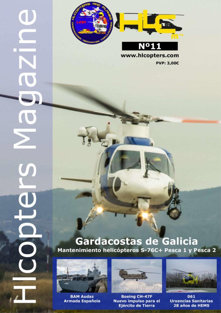Hlcopters número 11, revista especializada en helicópteros