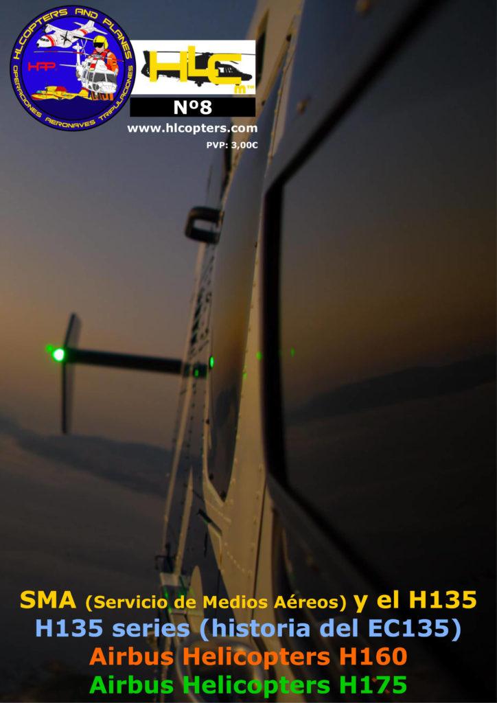 Hlcopters número 8, revista especializada en helicópteros