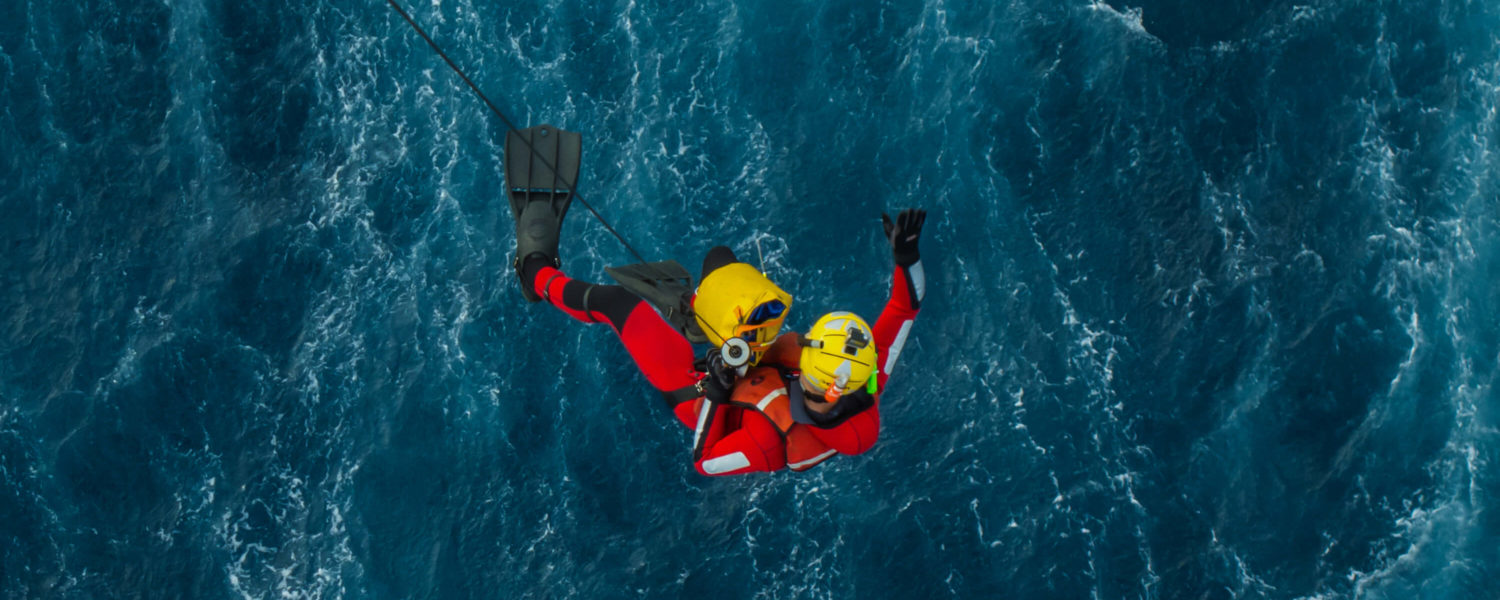 Nadador de rescate Salvamento Marítimo, Spanish Maritime Safety Agency Rescue Swimmer