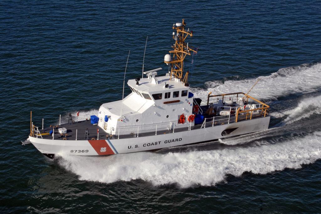 Coast Guard Cutter Crocodile, Coast Guard searching kayaker
