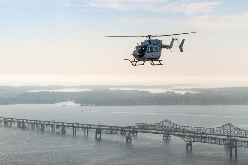 Airbus Helicopters Inc. hosted a ceremony with leaders of the U.S. Naval Test Pilot School (USNTPS) to commemorate the UH-72A Lakota's 10th anniversary at Naval Air Station (NAS) Patuxent River, Maryland.