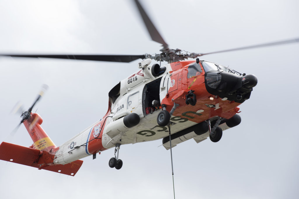 US Coast Guard MH-60 Jayhawk helicopter