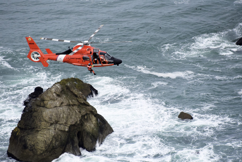 Coast Guard suspends search for missing person in Indian Slough near Discovery Bay, MH-65 Dolphin from Air Station San Francisco
