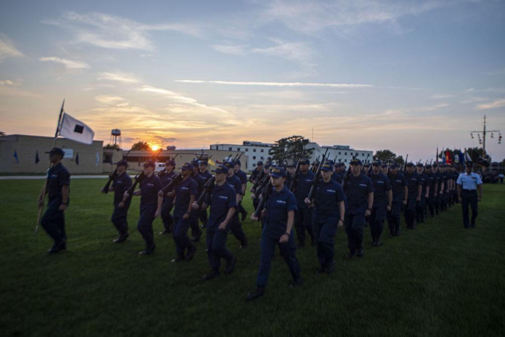 Coast Guard's 229th birthday, Aug. 4, 2019. Official U.S. Coast Guard photo by Petty Officer 2nd Class Richard Brahm.