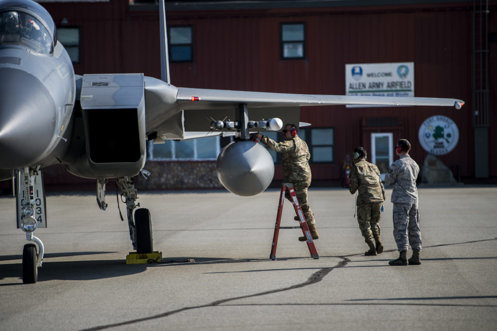67th Aircraft Maintenance Unit, Allen Army Airfield, Red Flag-Alaska, F-15 Eagle