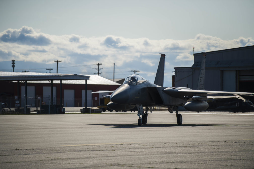 Red Flag Alaska, US Air Force F-15 Eagle, USAF 67th Fighter Squadron