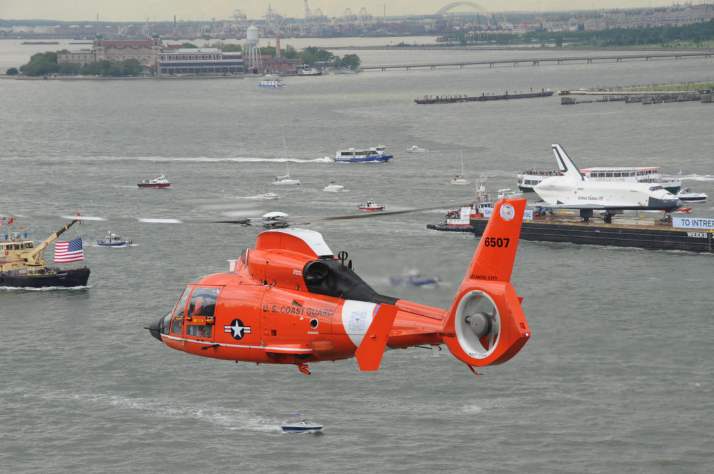 Coast Guard searching for missing kayaker, MH-65 Dolphin helicopter crew, MH-65 Air Station Atlantic City