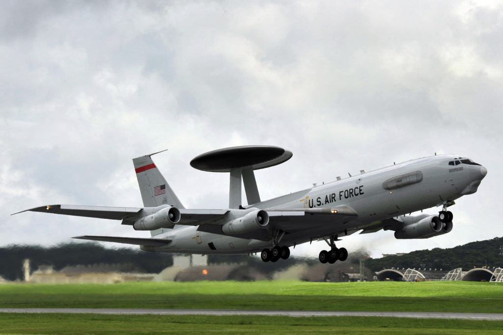 E-3 Sentry, AWACS E-3 Sentry, Boeing E-3 Sentry, US Air Force E-3 Sentry, Maintainers Maintain Mission Readiness