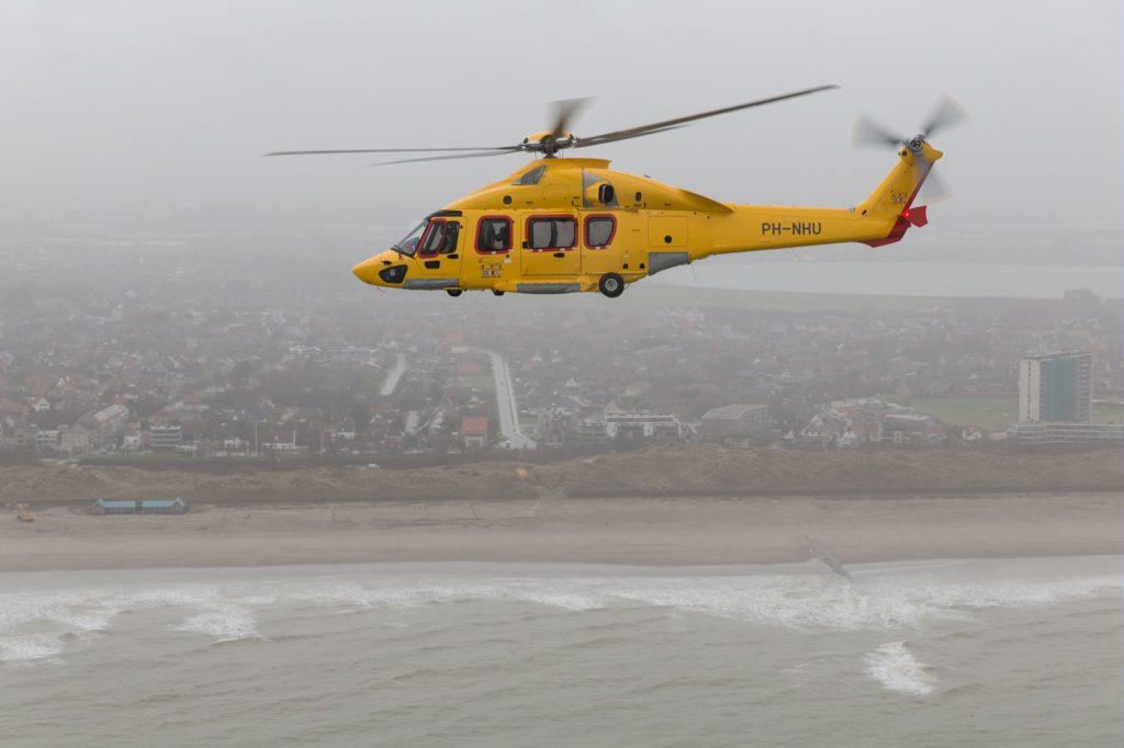 NHV se adjudica el contrato offshore de Petrofac (Oil & Gas), NHV (Noordzee Helikopters Vlaanderen) Airbus Helicopters H175. ©Lorette Fabre (Airbus). NHV contrato offshore Petrofac