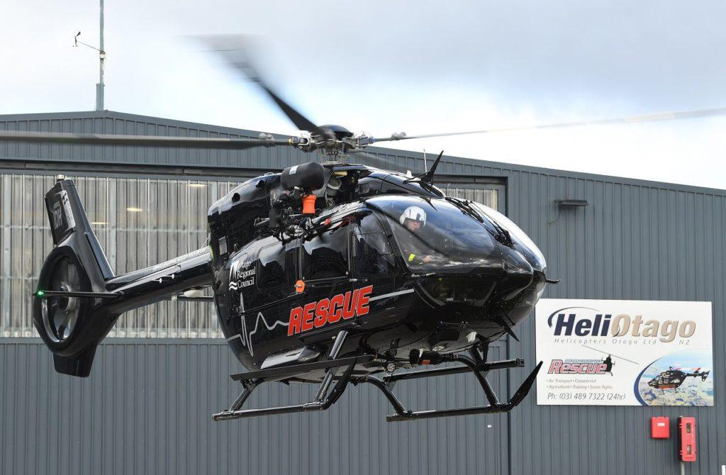 Airbus Helicopters H145 para servicios de emergencia médica (EMS). Airbus Helicopters entregó dos H145 para servicios médicos de emergencia en Nueva Zelanda
