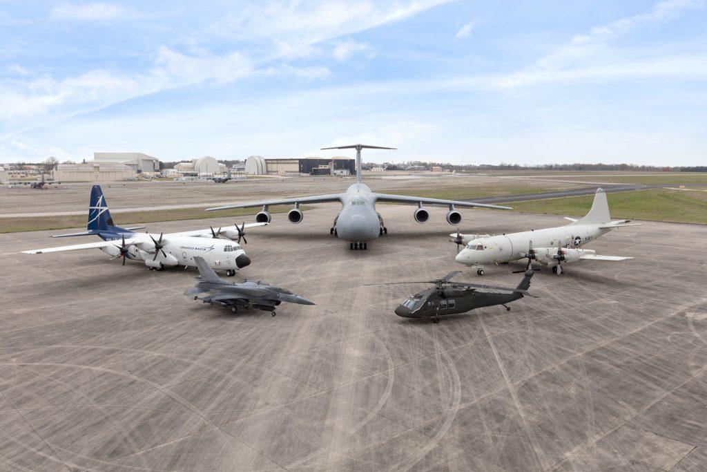 F-16: Lockheed Martin celebra los 35 años de su planta en Greenville, Lockheed Martin: C-5 Galaxy, C-130 Hercules, F-16 Fighting Falcon, P-3 Orion y el helicóptero Sikorsky UH-60 Black Hawk