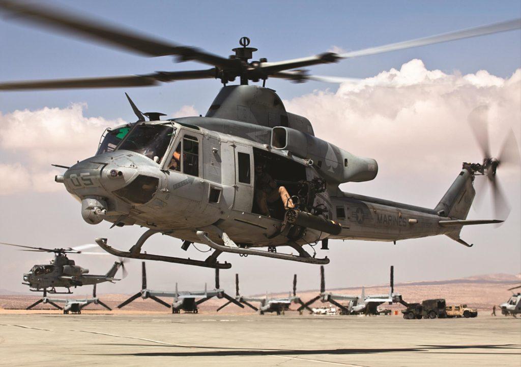 UH-1Y Venom y AH-1Z Viper, el dúo perfecto.