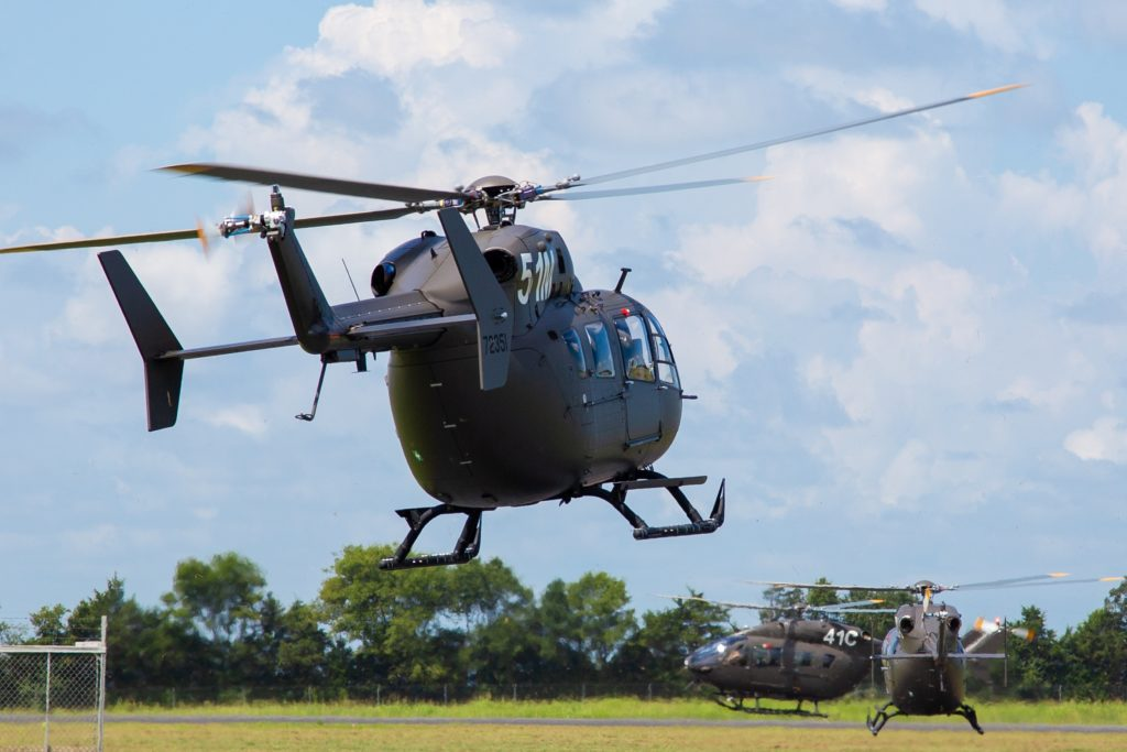 Airbus Helicopters UH-72A Lakota, Army Aviation Center of Excellence in Fort Rucker, Army Airbus UH-72A Lakota