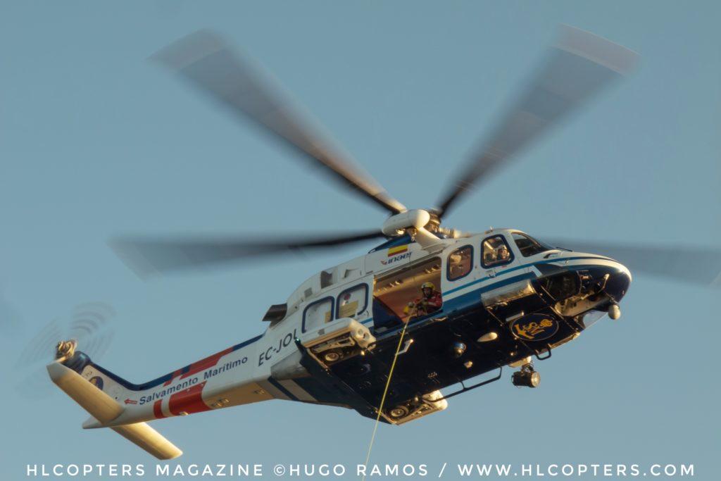 Leonardo AW139 número 1000, Helimer 218 Salvamento Marítimo