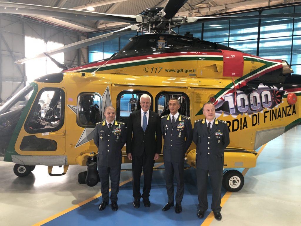 Leonardo AW139 número 1000, Guardia di Finanza AW139 number 1000