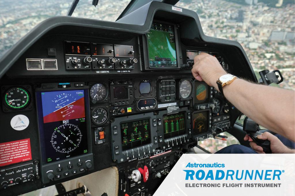 Astronautics' RoadRunner® EFI has received a supplemental type certificate for A109/119 helicopters from Agência Nacional de Aviação Civil (ANAC), Astronautics Corporation Roadrunner EFI