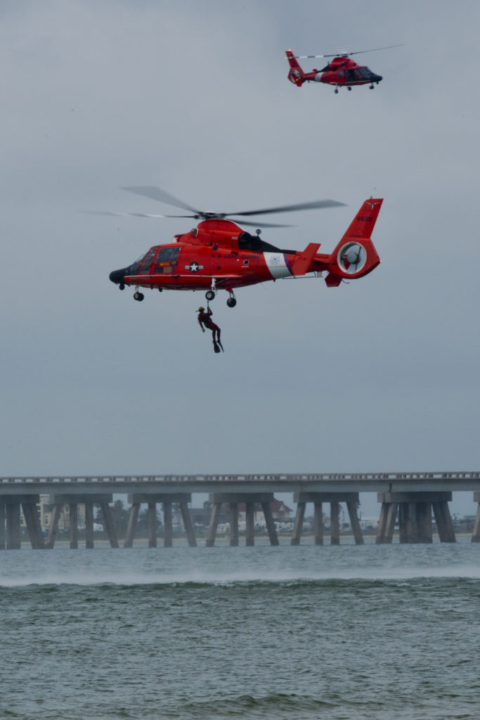 Coast Guard Paramount Hanover, ;H-65 Dolphin Air Station Houston