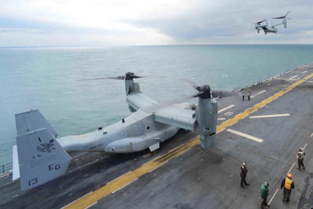 Bell Boeing V-22 Osprey, V-22 500.000 horas de vuelo, V-22 500000 flight hours, V-22 Osprey horas de vuelo