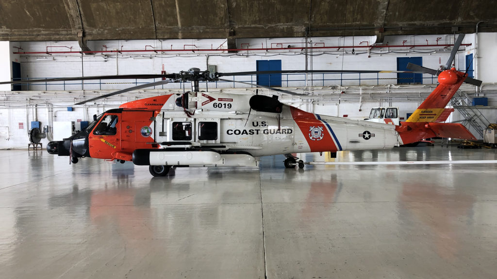 Coast Guard Air Station Clearwater MH-60 Jayhawk helicopter,