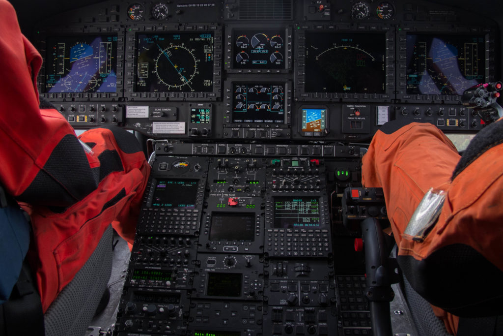 Cockpit AHCAS Airbus Helicopters H225,