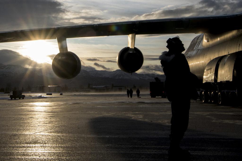 Aviadores USAF Clima Ártico