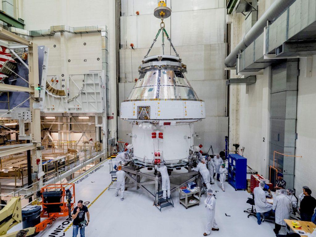 Orion Spacecraft.
