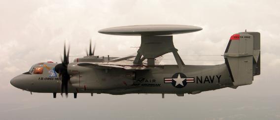 El sistema ESM (Electronic Support Measure/Medidas de Soporte Electrónico) AN/ALQ-217, actualmente instalado en las unidades de la U.S. Navy y en la flota de aviones internacionales E-2C y E-2D Advanced Hawkeye.