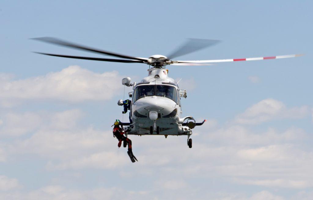Leonardo AW139 SAR.