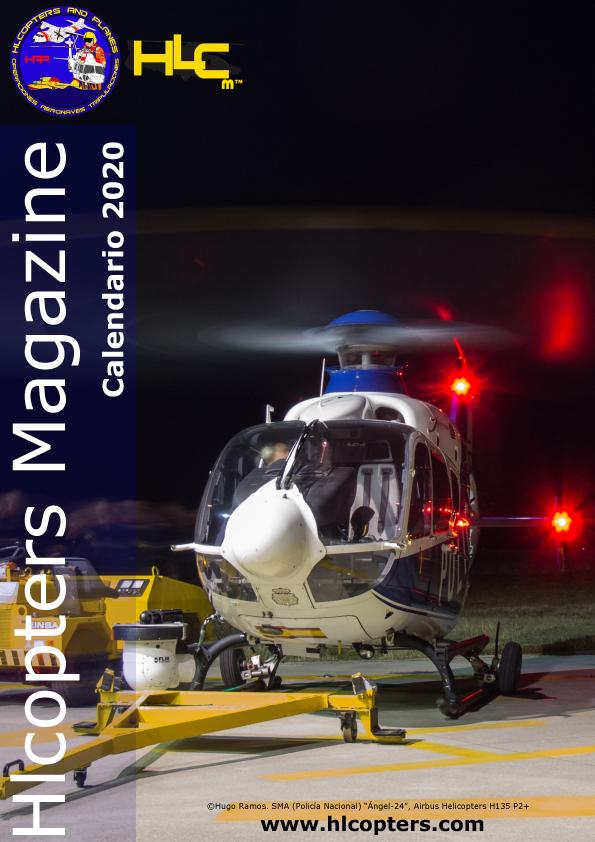 Hlcopters Magazine: Calendario de helicópteros 2020, helicopters calendar