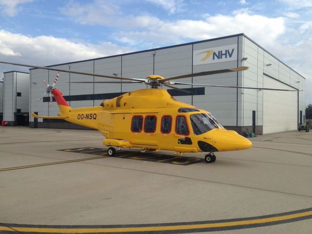 NHV Group Leonardo AW139 Phase 7. NHV Group Tropical Arctic.