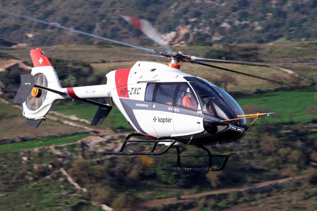 Kopter SH09. Leonardo compra Kopter Group AG, el fabricante suizo de helicópteros