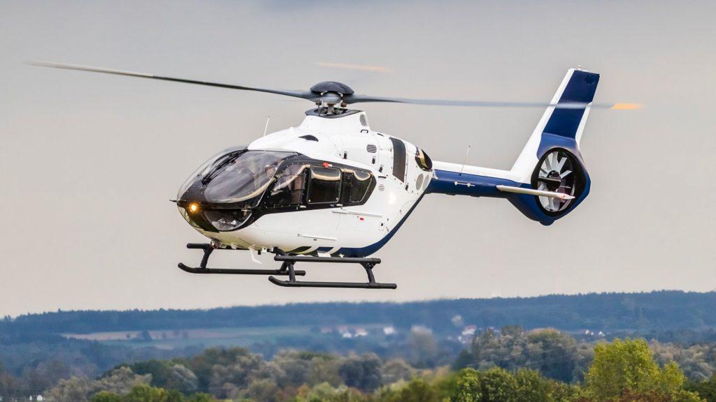 Aumento del peso bruto alternativo disponible para la última versión de la familia de helicópteros H135. AGW Airbus Helicopters H135