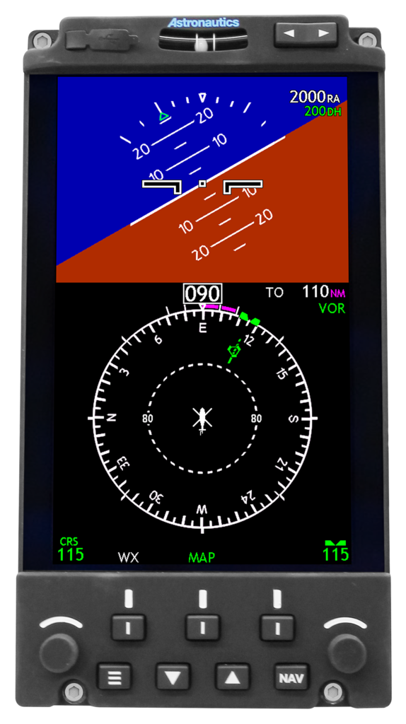 Astronautics is releasing enhancements to its RoadRunner Electronic Flight Instrument that improve integration with all H-60 platforms, as well as support for additional military functions such as TACAN.