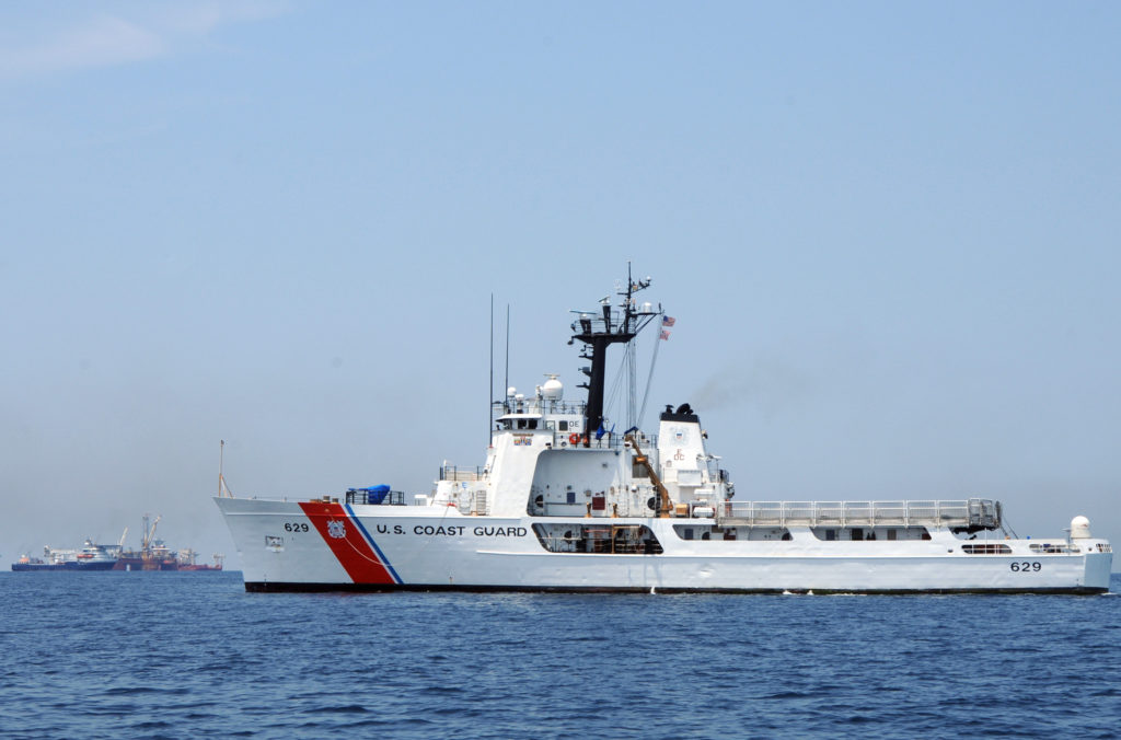 Coast Guard rescue 4 mariners from disabled lancha in Gulf of Mexico