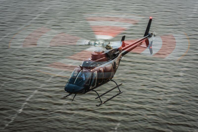 TVA Bell 407GXi IFR. Bell 407GXi.