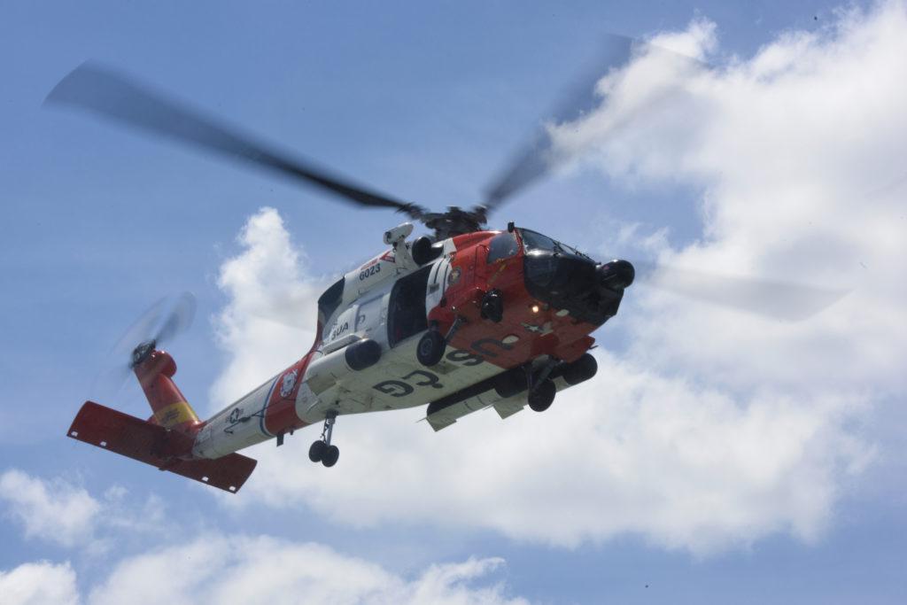 Coast Guard search underway after radio beacon alert and debris found off Wilmington, North Carolina.