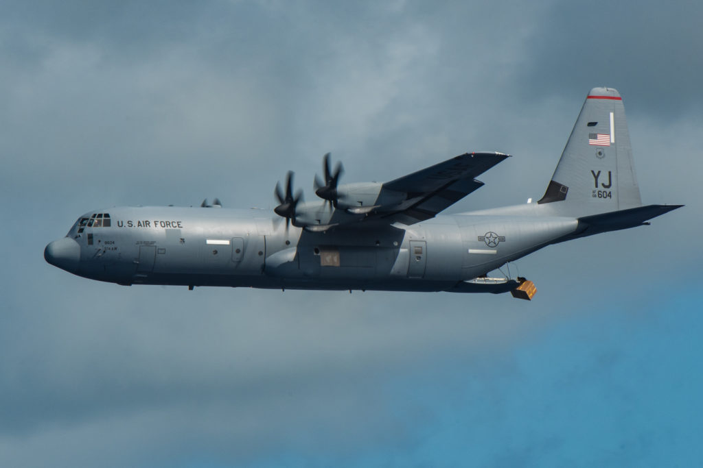 Coast Guard, USAF and partners searching for a missing mariner off Federated States of Micronesia.