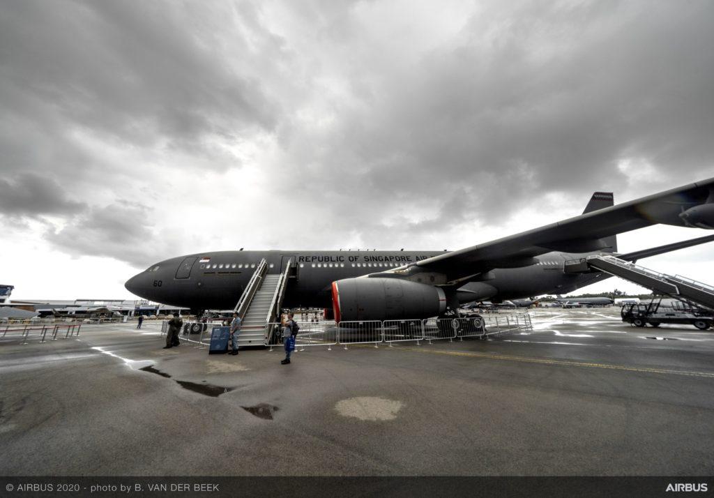 Airbus y Singapur colaboran en el desarrollo del A330 SMART MRTT