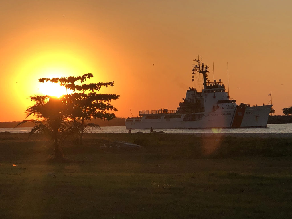 Coast Guard Cutter Alert returns home after a counterdrug patrol and international exercise