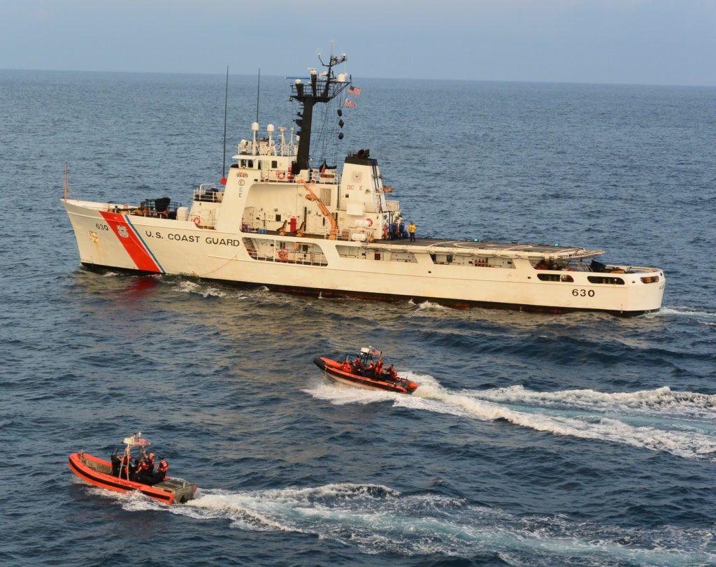 Suspect apprehended in historic Coast Guard drug bust off Oregon coast sentenced to prison. Cutter Alert. USCGC Alert.