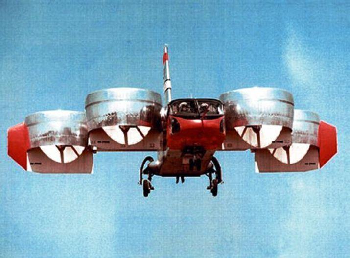 Bell Aerospace: el proyecto X-22 para la U.S. Navy. Bell X-22A.