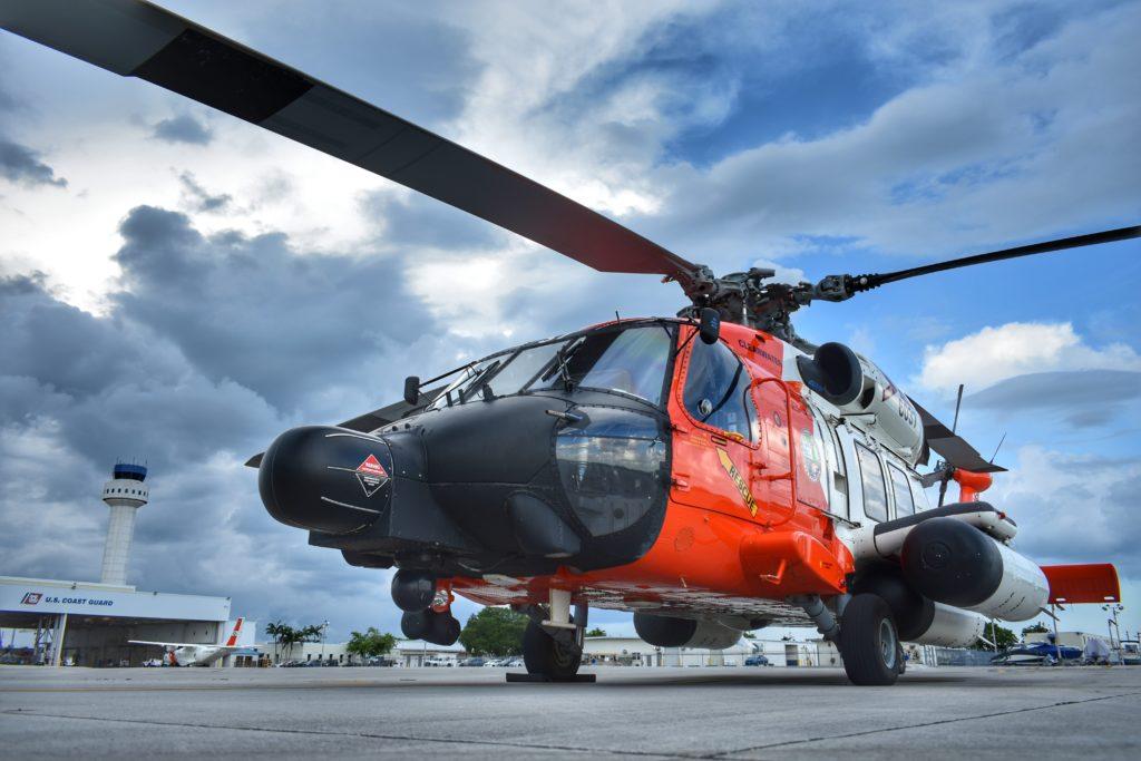Coast Guard, good Samaritan rescue 2 presumed lost at sea, Bahamas. MH-60 Jayhawk. HH-60 Jayhawk.