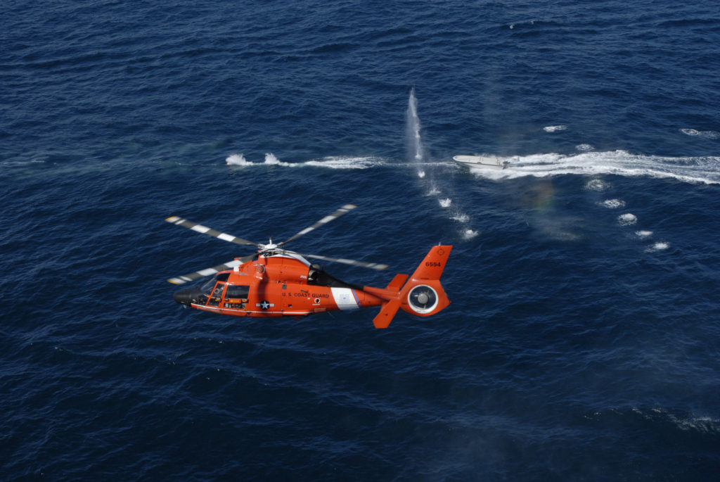 Coast Guard Cutter Vigilant (WMEC-617) returns home after 40-day Western Caribbean counter-drug patrol. Helicopter Interdiction Tactical Squadron. HITRON. MH-65 Dolphin. HH-65 Dolphin. MH-65 Dolphin HITRON.