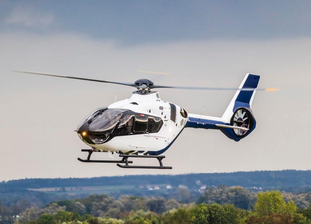 Japan's National Police Agency orders five Airbus Helicopters. Airbus Helicopters H135. EC135 T3.
