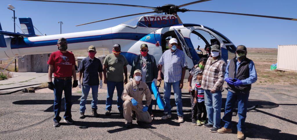 MD Helicopters realiza vuelos de apoyo en misiones humanitarias contra el COVID-19. MD 520N.