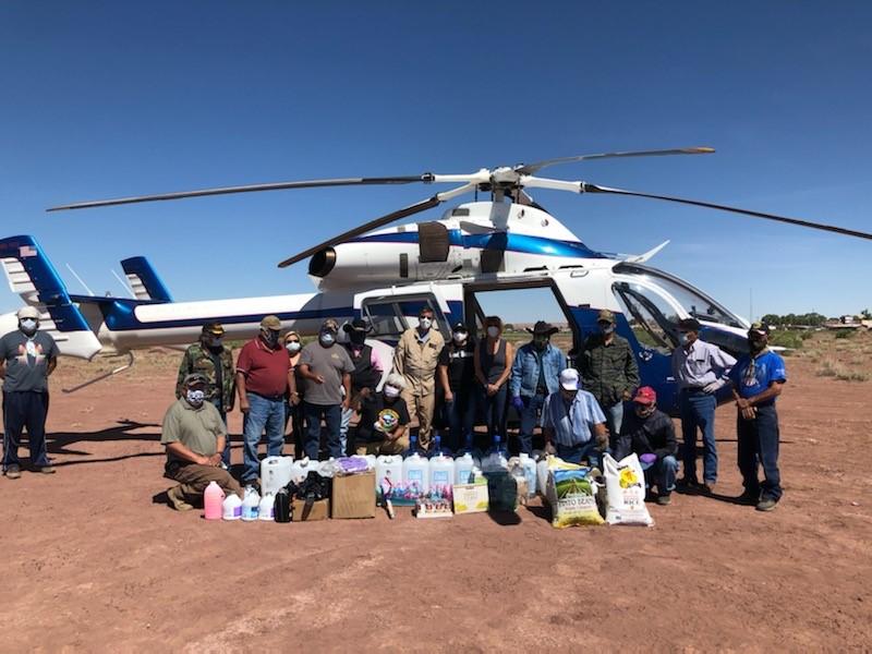 MD Helicopters realiza vuelos de apoyo en misiones humanitarias contra el COVID-19. MD 902 Explorer.