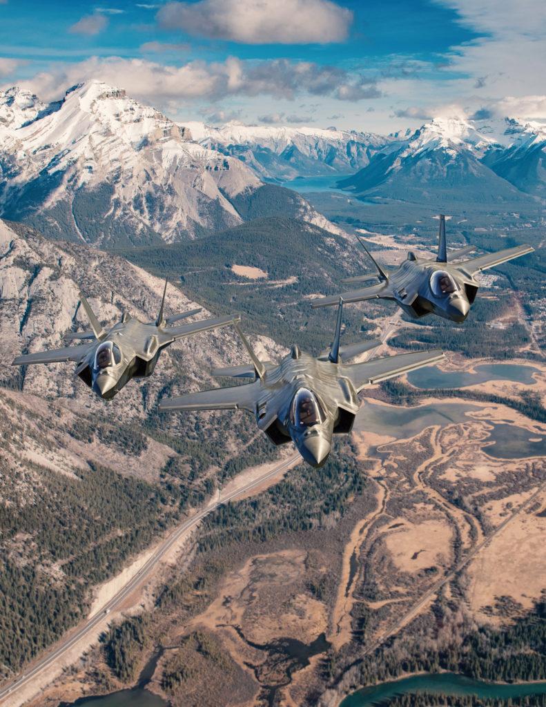 Estados Unidos presenta la RFP a Canadá para el avión F-35. Lockheed Martin F-35.