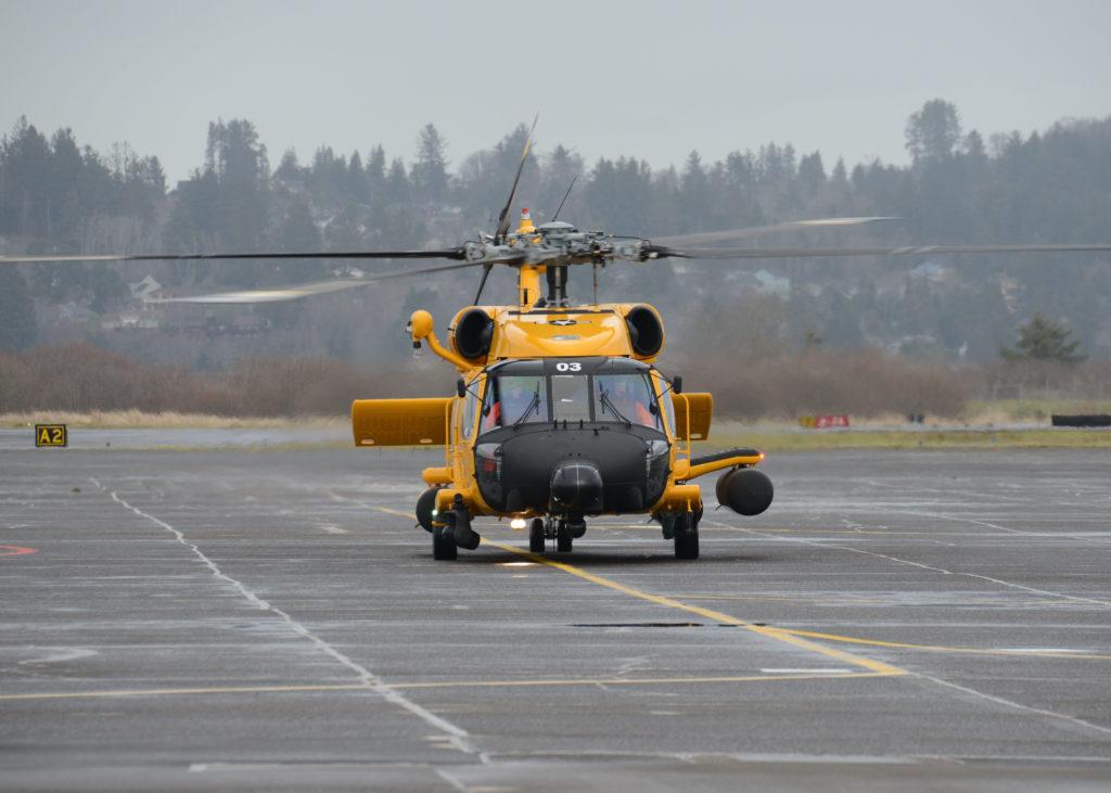 Coast Guard MH-60 Jayhawk crew rescue two teens near Fort Stevens, Oregon. Sector Columbia River. Air Station Astoria.
